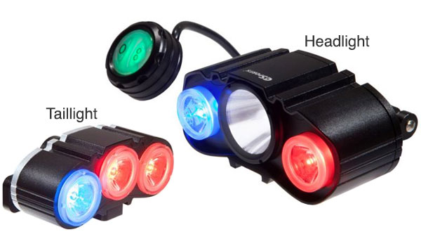C3sports Police Bike Patrol Lights And Accessories